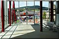 NT4936 : Inside the new bus station, Galashiels by Jim Barton