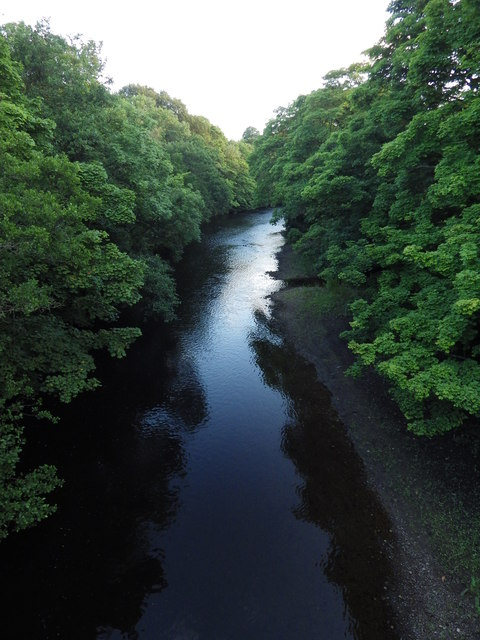 The River Coquet from Weldon Bridge
