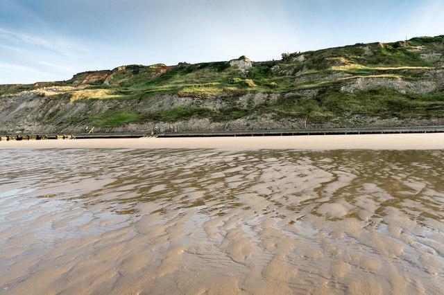 Beach below Trimingham