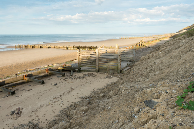 Beach below Trimingham