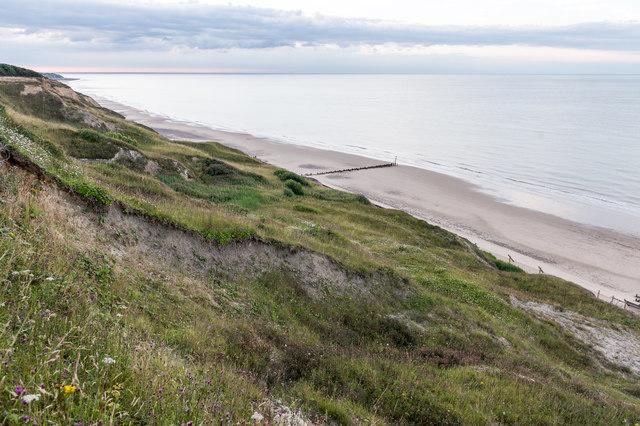 Beach north of Trimingham