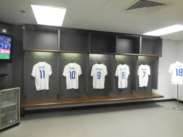 Inside The England Changing Room 169 Paul Gillett