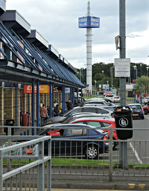 the forge retail park thomas nugent geograph britain. Black Bedroom Furniture Sets. Home Design Ideas