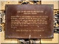 Photo of John bronze plaque