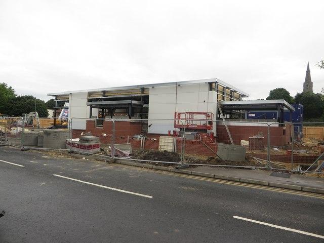 New Restaurant Construction : New restaurant under construction graham robson cc