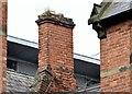 J3473 : Chimney, former St Malachy's primary school, Belfast (August 2015) by Albert Bridge