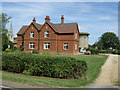 SP9735 : Houses on Eversholt Road, Ridgmont by JThomas