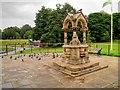 SJ3786 : The Gothic Fountain, Sefton Park by David Dixon