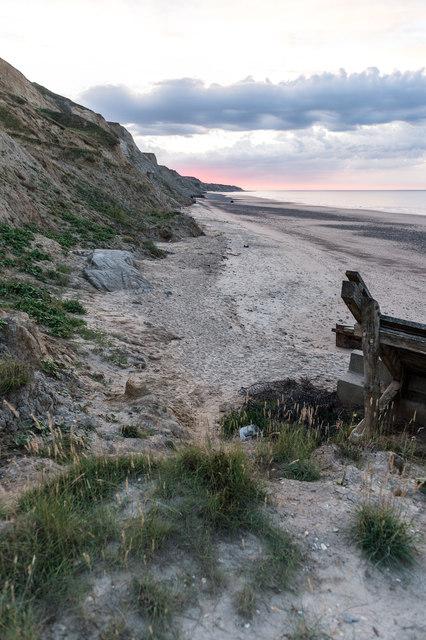 Beach between Trimingham and Sidestrand