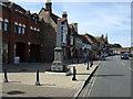 TL1439 : War Memorial, Shefford by JThomas