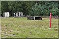 SU9154 : Ash Ranges shotgun range by Alan Hunt