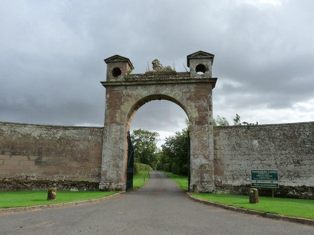 North Gate - Wedderburn Castle