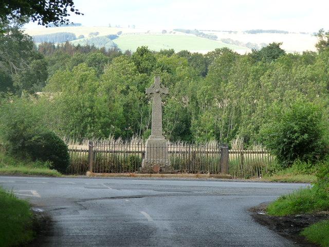 War memorial at Edrom