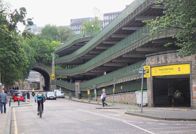 Car Park Edinburgh Waverley Station Edinburgh