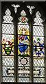 SK5739 : Stained glass window, St Peter's church, Nottingham by Julian P Guffogg