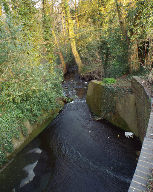 Outflow From Powell 39 S Pool Sutton Park Robin Stott Geograph Britain And Ireland