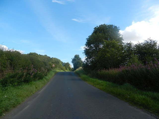 Heading west towards Stichill in Roxburghshire