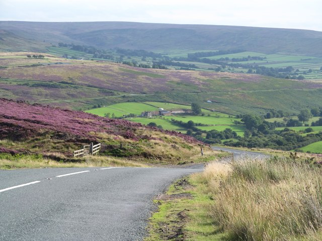 The road to Castleton