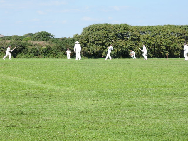 Cricket match at East Prawle