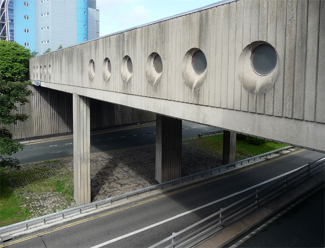 Hadrian Bridge over Central Motorway