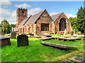 SJ4474 : Thornton-le-Moors, St Mary's Church by David Dixon