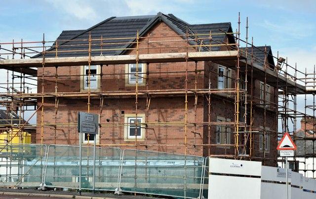 Holywood Road development site, Belfast - September 2015(3)