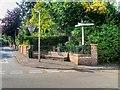 SJ4468 : Guilden Sutton War Memorial by David Dixon