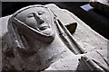 SO5815 : Detail of Tomb Effigy by Stuart Wilding