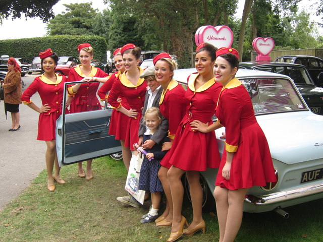 Festival Of Speed >> Glamcabs girls, Goodwood Revival © Oast House Archive cc ...