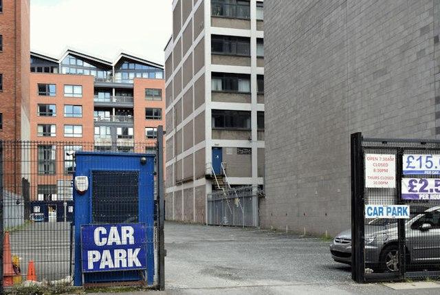 Chichester Street Car Park Belfast