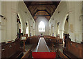 TL2842 : St Peter & St Paul, Steeple Morden - West end by John Salmon