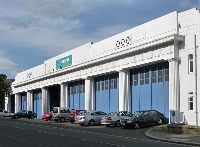 Bus depot, Sandyford