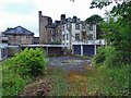 SK0573 : Back of Boarded up Hotel on St Johns Road by Mick Garratt
