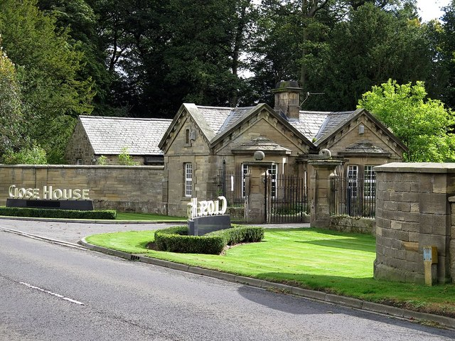 Close House Lodge and Gateway