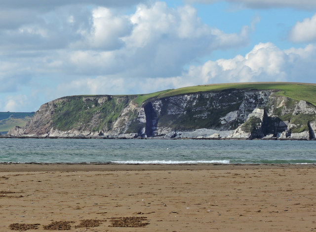 Bigbury Bay: towards Beacon Point