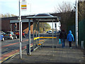 SD3133 : Bus stop, St Anne's Road, South Shore, Blackpool by Robin Stott