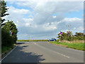 SP9825 : Dunstable Road, Tilsworth, meets the A5 by Robin Webster