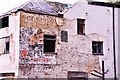 SJ9856 : Advertising on Derelict Building (ghost sign) : Week 37