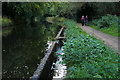 SU9757 : Basingstoke Canal outflow by Alan Hunt