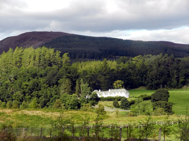 Dallick House near the Sma' Glen in Perthshire