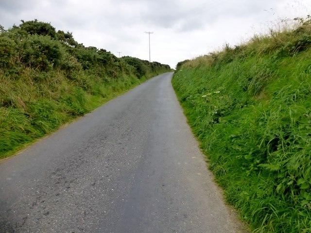Minor Road Towards Y Ferwig