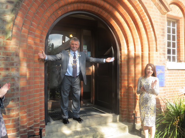 The Mayor opens the Museum of St Albans on the final day