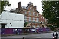 TQ3278 : Walworth Town Hall site and Newington Library, Walworth Road, Walworth, London by Robin Stott