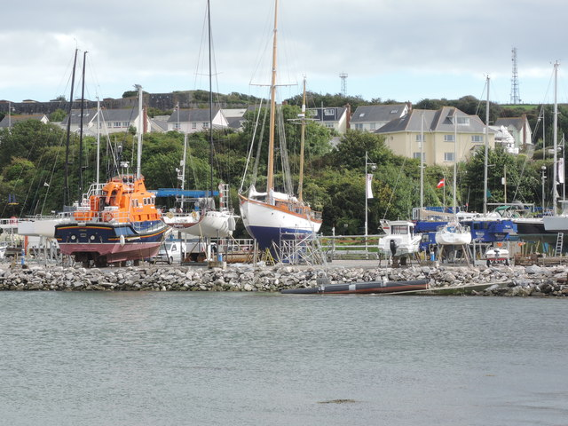Mount Batten: boatyard