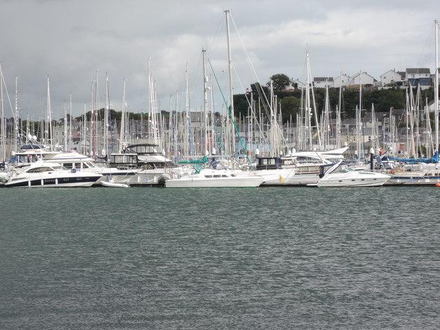 Mount Batten: marina