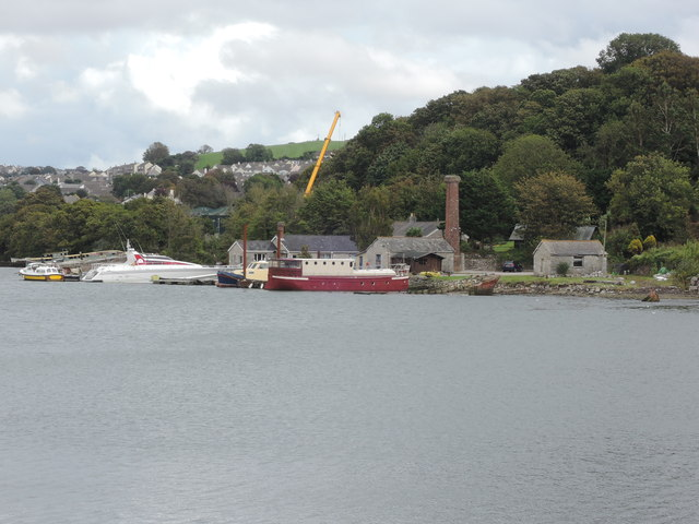 Hooe Lake: towards Hexton Quay