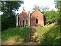 SO8610 : Painswick Rococo Gardens - The Red House by Rob Farrow