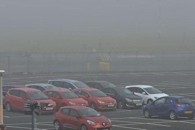 Mist, George Best Belfast City Airport (October 2015)