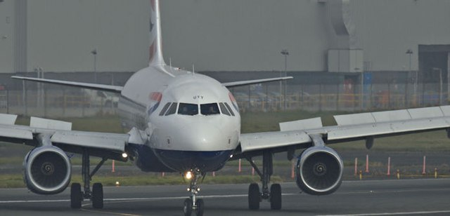 G-EUYY, George Best Belfast City Airport (October 2015)