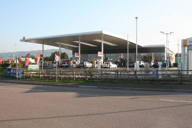 Chelston: Shell petrol station